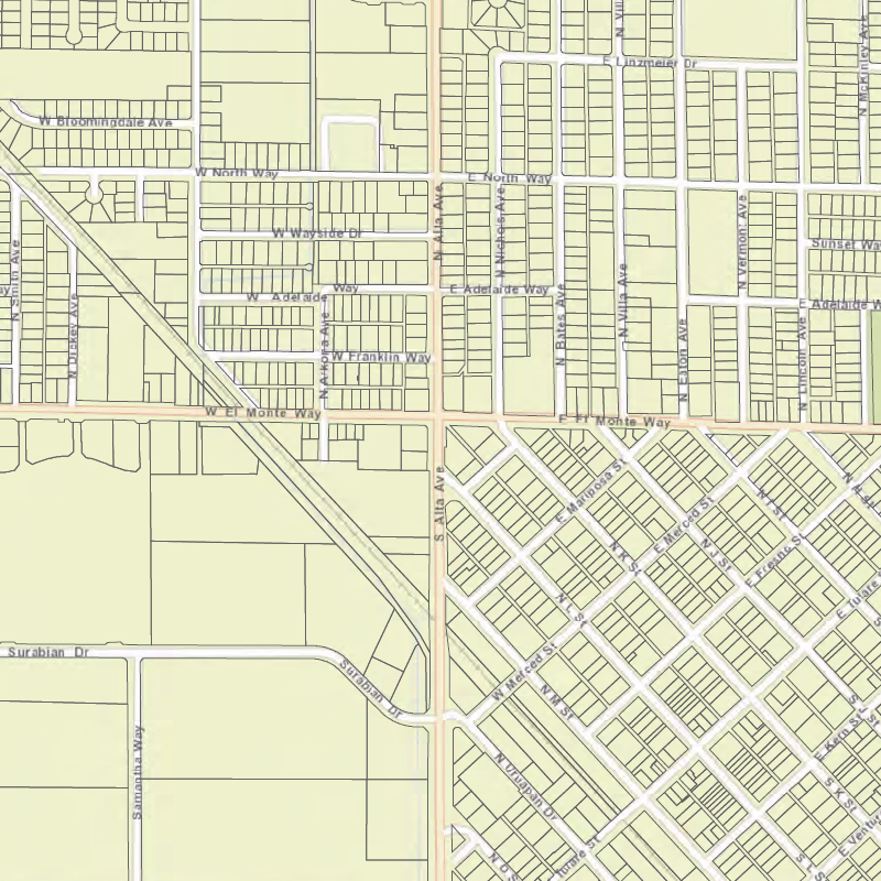 City Limits/Street Map